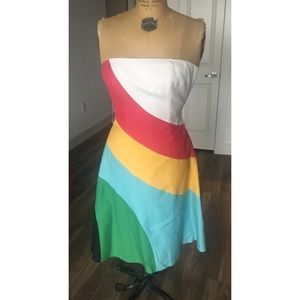 Multi-color Tracy Reese dress
